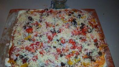 Photo of Πίτσα με τυρί μοτσαρέλα & λαχανικά